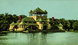 Belle Isle Pavilion, Detroit, Michigan - Fine-Art-Quality Photographic Print - 8x10-inch Enlargement from a Classic Vintage Postcard