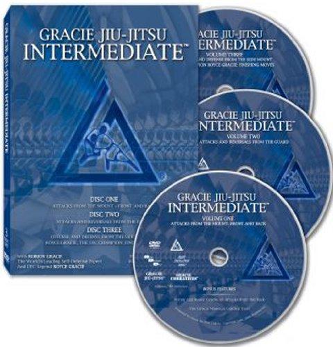 Gracie Jiu-Jitsu Intermediate - 3 Disc DVD Set
