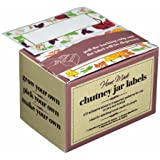 Kitchen Craft Boîte de 100 étiquettes auto-adhésives pour chutney/confiture/conserve