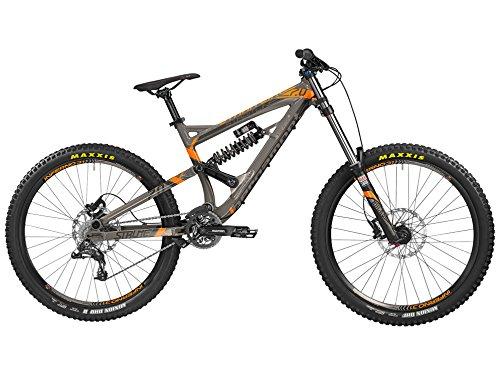 Bergamont-Straitline-70-DH-MTB-275-Fahrrad-grauschwarzorange-2016-Gre-M-168-175cm