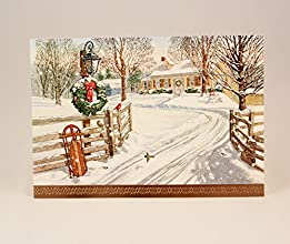 Hallmark Holiday Christmas Cards - May warm special memories brighten your Holidays - 16 Cards in Bo