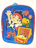 Disney Jake and the Never Land Pirates Backpack 11 New Let's Find the Treasure