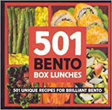 501 bento lunches 501 unique recipes for brilliant bento 9780955339851 books. Black Bedroom Furniture Sets. Home Design Ideas