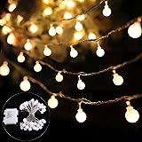 B-right® 40 LEDs Globe Lichterkette, LED lichterkette...