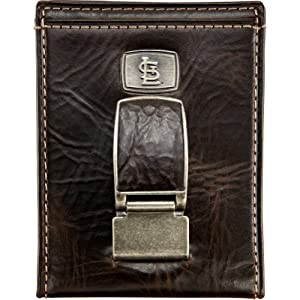 Fossil St. Louis Cardinals Bifold Wallet (Brown)