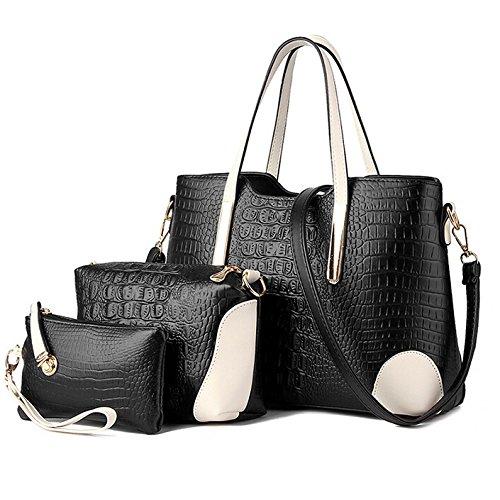 9ed938cd9d Women Multi-purpose Crocodile Pattern Leather Shoulder bags ...