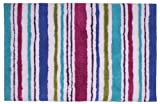 Jovi Home 100-Percent Cotton Carousel Stripe Bath Mat 24 by 36-Inch Multicolor