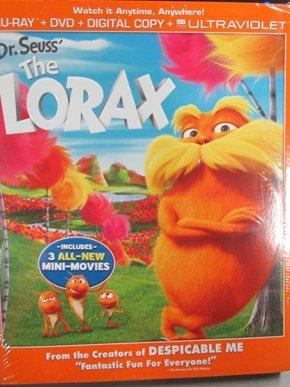 Dr. Seuss' The Lorax (Blu-ray + DVD + Digital Copy + UltraViolet)