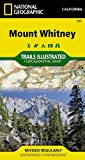 Search : Mount Whitney (National Geographic: Trails Illustrated Map #322) (National Geographic: Trails Illustrated Topographic Maps)