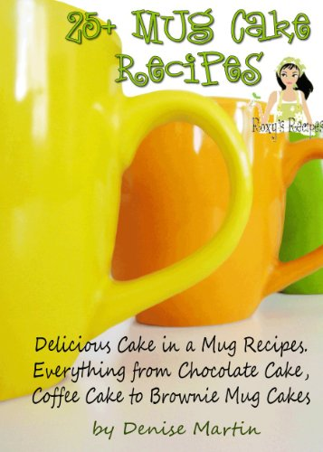 25+ Delicious Mug Cake - Cake in a Mug - Recipes