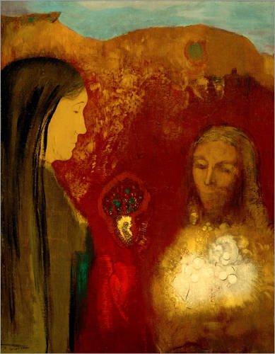 canvas-print-100-x-130-cm-le-christ-et-la-samaritaine-le-bouquet-blanc-by-odilon-redon-akg-images-re