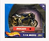 Hot Wheels 2003 Collectable Ducati 916 Die Cast Motorcycle  Black and Gold  1 18 Moto    47118