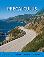 Precalculus, 7th Edition Front Cover