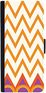 Snoogg Minimal Wavesdesigner Protective Flip Case Cover For Samsung Galaxy S5...