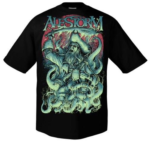 """Alestorm 701695-Godmachine """" nero Large"""