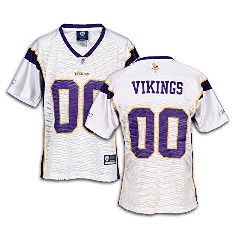 Minnesota Vikings NFL Womens Team Replica Jersey, White