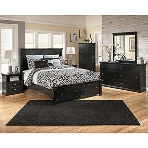 Amazon.com - Maribel Storage Bedroom Set - Bedroom Furniture Sets