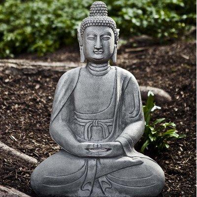 Chang Mia Buddha Statue Color: Alpine Stone