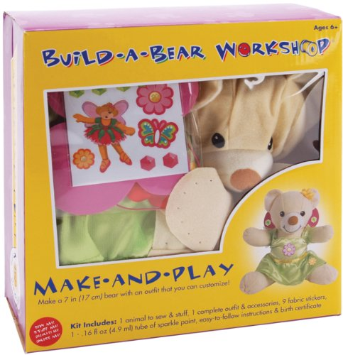 Colorbok Build, A, Bear Kit, Velvet Fairy