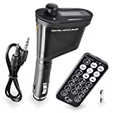 INSTEN® Car Kit MP3 Player FM Transmitter with LCD Display, Black