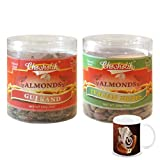 Chocholik - Almonds Gulkand & Italian Herbs 2 Combo Pack With Diwali Special Coffee Mug - Gifts For Diwali