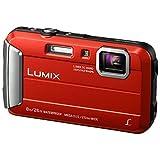 Panasonic LUMIX DMC-FT30EG-R Outdoor Kamera (16,1 Megapixel, 4x opt. Zoom, 2,6 Zoll LCD-Display, wasserdicht bis 8 m, 220 MB interne Speicher, USB) rot