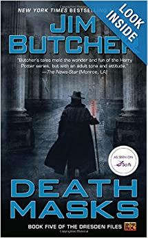 Death Masks: Book Five of The Dresden Files by Jim Butcher