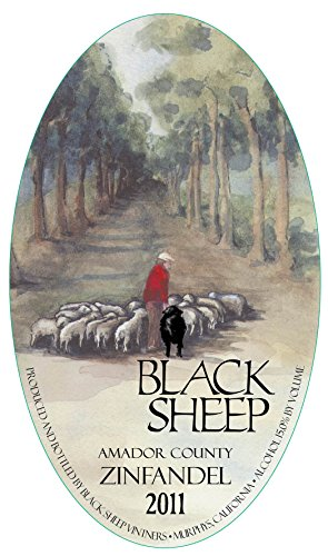 2011 Black Sheep Winery Amador County Zinfandel 750 Ml