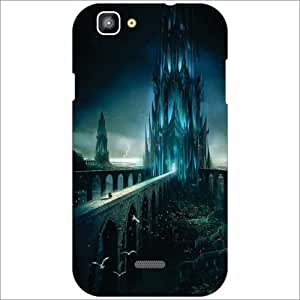 XOLO One Back Cover - Silicon Thunder Designer Cases