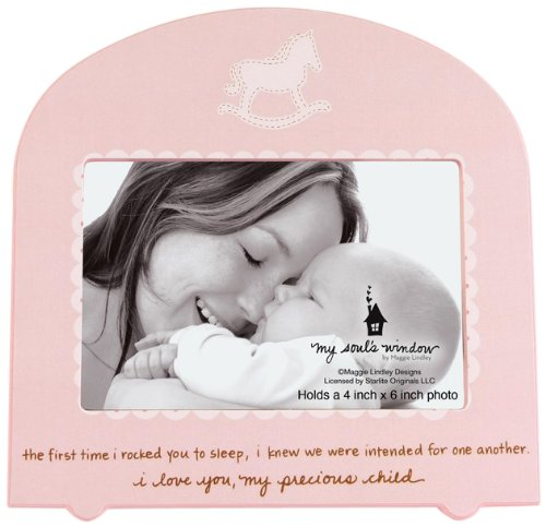 My Soul's Window 4145 Rocked to Sleep Girl Frame, 8-1/4-Inch, Holds 4 by 6-Inch Photo