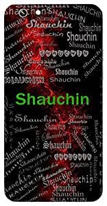 Shauchin (Pure) Name & Sign Printed All over customize & Personalized!! Protective back cover for your Smart Phone : Apple iPhone 7