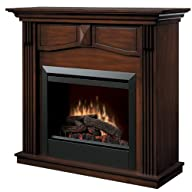 Dimplex Holbrook DFP4765BW Traditional Electric Fireplace Mantle with 23-Inch Firebox, Burnished…