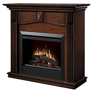 Dimplex Holbrook DFP4765BW Traditional Electric Fireplace Mantle