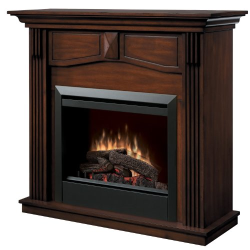 Dimplex Holbrook DFP4765BW Traditional Electric Fireplace Mantle with 23-Inch Firebox, Burnished Walnut image B000UJFJ6G.jpg