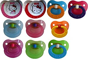 Baby Pants Adult Pacifiers with NUK 5 Nipples by Baby Pants