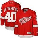 Henrik Zetterberg Reebok NHL -Red- Premier Detroit Red Wings Jersey