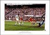 Aston Villa FC Photo - 1982 European Cup Final Peter Withe Goal