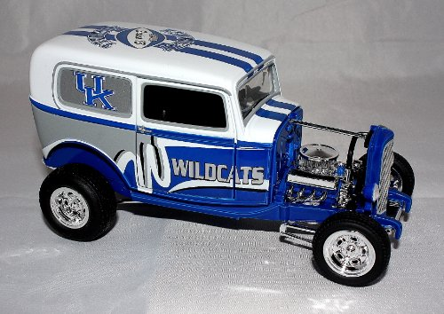Kentucky Wildcats Limited Edition 1932 Ford Delivery Street Rod Diecast at Amazon.com