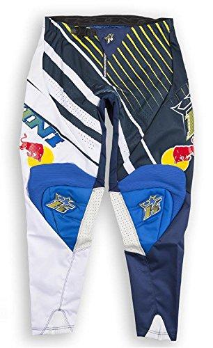 Pantaloni Offroad Kini Red Bull Vintage Pants Yellow/Blue - Taglia 30
