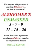 img - for Alzheimer's Unmasked book / textbook / text book