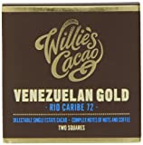 Willie's Cacao Venezuelan 72 Rio Caribe Nut and Coffee Notes 80 g (Pack of 4)