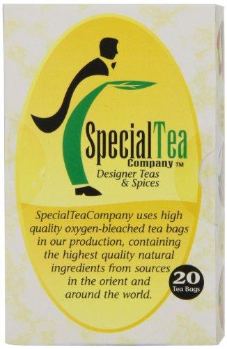 Special Tea Gourmet Green Tea Bags, Jasmine, 20 Count