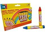 PLAY DOH 12 Maxi Wax Crayon Set CPDO003