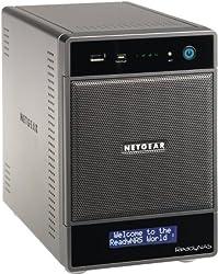 NETGEAR ReadyNAS Ultra 4 (4-bay, diskless) Network Attached Storage, latest generation RNDU4000