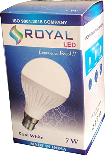 Royal 7W B22 LED Bulb (White)