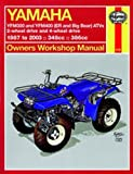 Yamaha Yfm350 Atv Owners Workshop Manual: Models Covered : Yfm350Er, 1987 Through 1995, Yfm350Fw (Big Bear), 1987 Through 1995 (Hayne's Automotive Repair Manual)