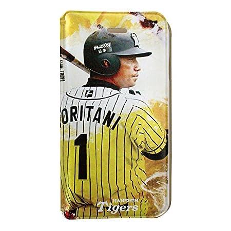 阪神タイガース iPhone6/6s ブックタイプケース (1.鳥谷敬)