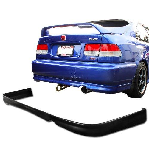 1999 - 2000 Honda Civic 2dr/4dr JDM Style Rear Bumper Lip