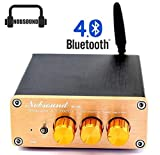 Nobsound® Bluetooth 4.0 Amp Digital TPA3116 2.1 Channel Subwoofer HiFi Amplifier
