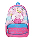 #10: Shopaholic Attractive Crown Featured Peppa Pig Bag Pack For Kids (Big)